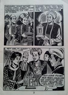 antara gaya Raja Hamzah